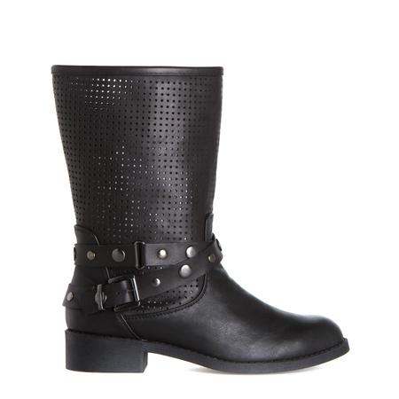 Women's Black Combat Boots