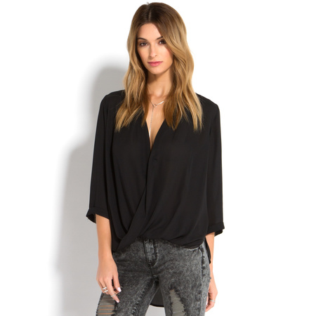 Cheap Designer Clothing For Women TWISTED SHIRT for Women