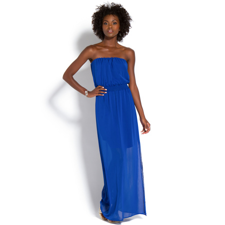 Women's Discount Designer Clothing STRAPLESS MAXI DRESS