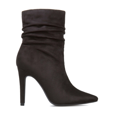 Women's Cheap Ankle Booties, Black Riding Boots, Women's Faux ...