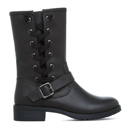 black combat boots cheap cr boot
