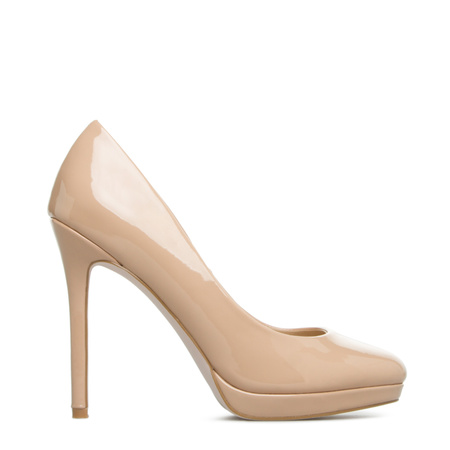 Cheap Nude High Heels