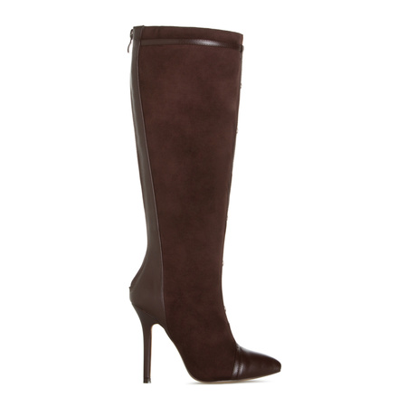 Women's Faux Suede Boots, Sexy High Heel Boots, Cheap Flat Boots ...
