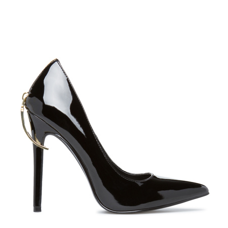 Cheap Black High Heels - Qu Heel