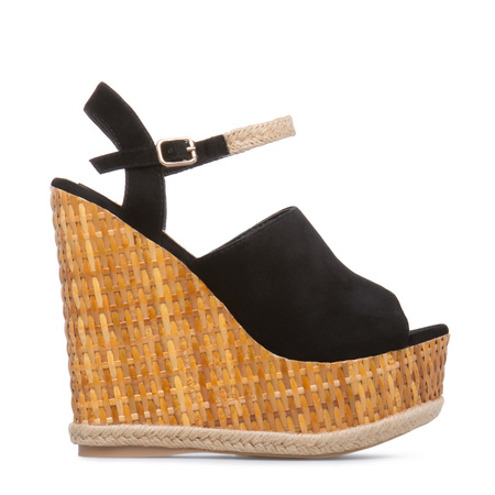 Women's Wedge Shoes, Platform Shoes, Black Wedge High Heels, Wedge ...