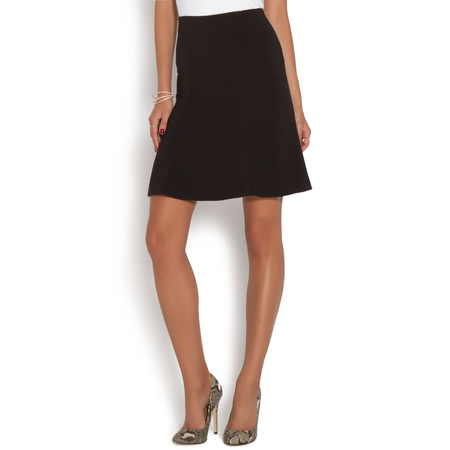 FITTED FLARE SKIRT