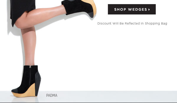 Today's Treat: Take 25% Off Any Fall Wedge You Want for 1 Day Only - Shop Now